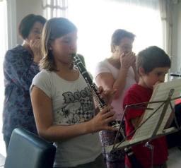 Harmonicas en Bb et clarinette jouent ensemble !