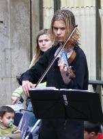 Un violoniste classique