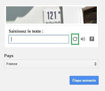 Un CAPTCHA beaucoup plus clair. Ouf !