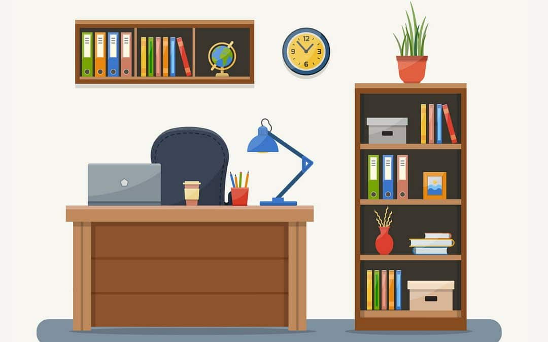 bureau aéré : une application directe du minimalisme