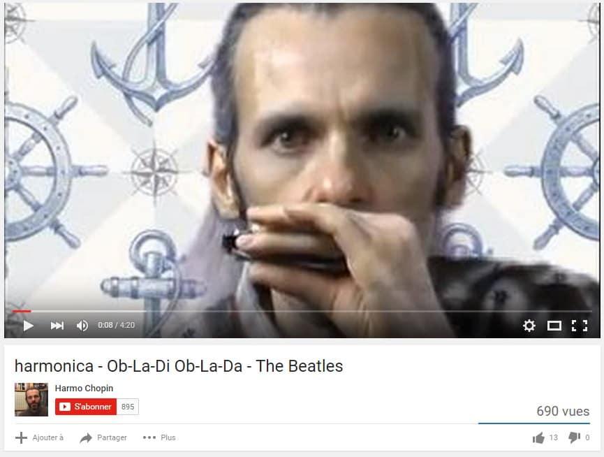 Ob-La-Di Ob-La-Da à l'harmonica... En version reggae !