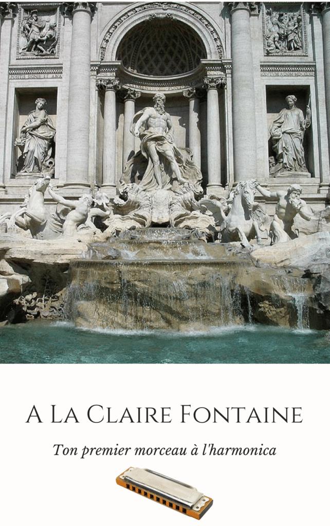 A La Claire Fontaine - cours harmonica