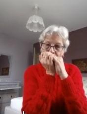 Carmen Rogé - élève de l'Ecole Internationale d'Harmonica