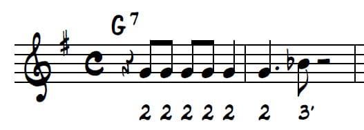 Apprends à retenir les 2 premières mesures du Plan Harmonica Blues 021