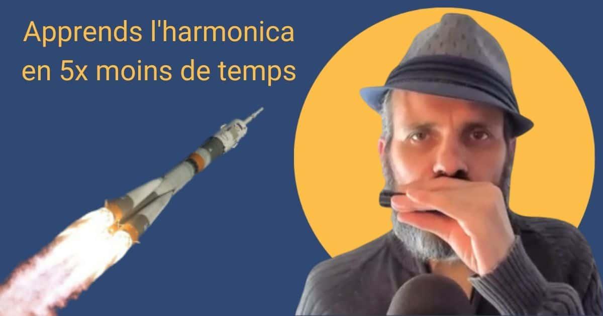 Apprends l'harmonica en 5 fois moins de temps