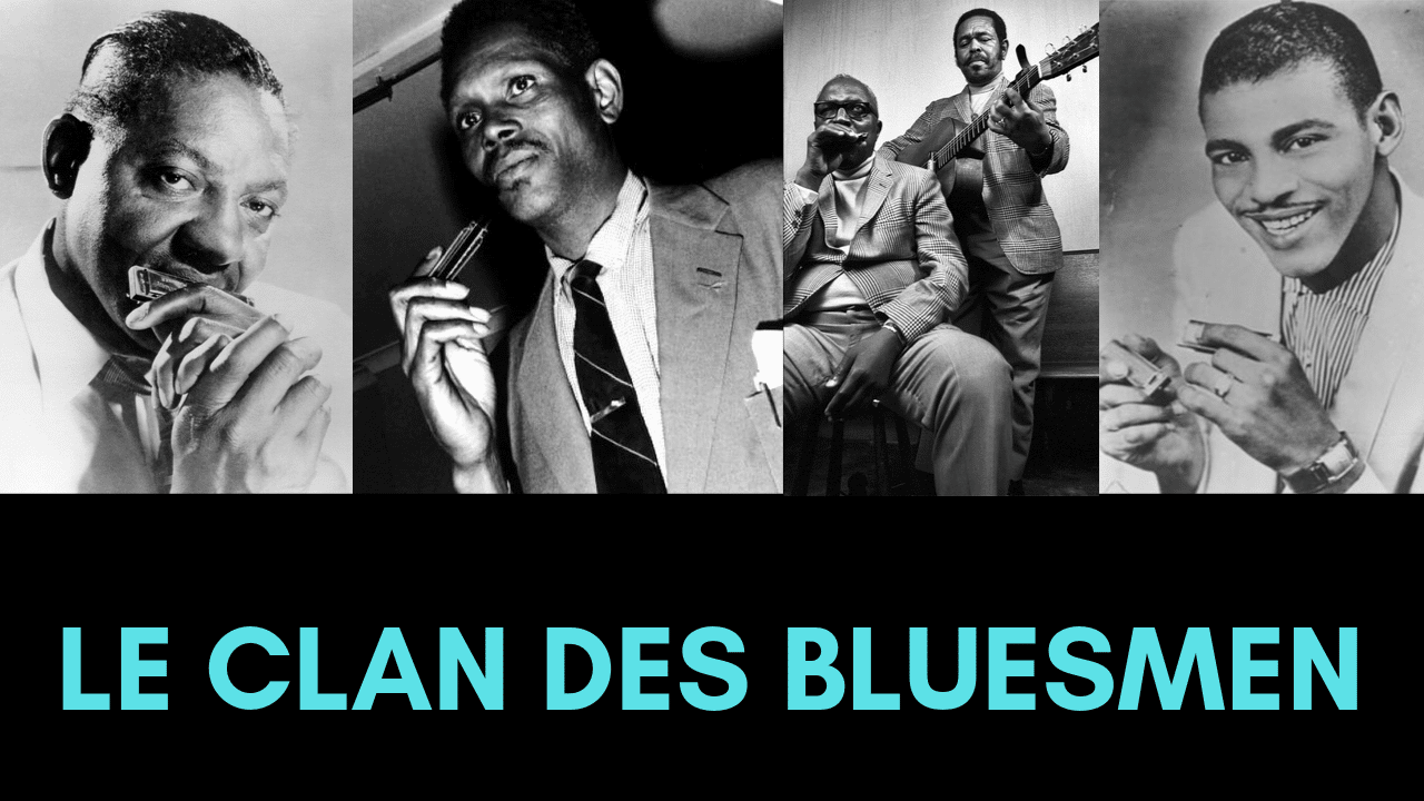 Le Clan des Bluesmen pour savoir jouer du bon blues à l'harmonica