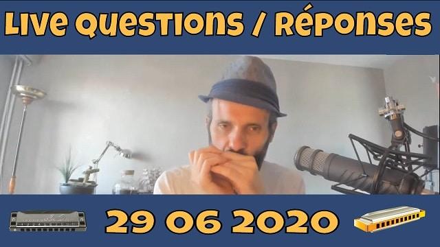 Questions Réponses sur l'harmonica 29 juin 2020