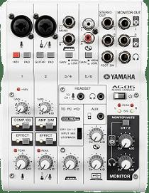console de mixage Yamaha AG 06