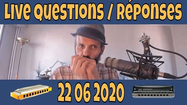 Questions Réponses sur l'harmonica 22 juin 2020