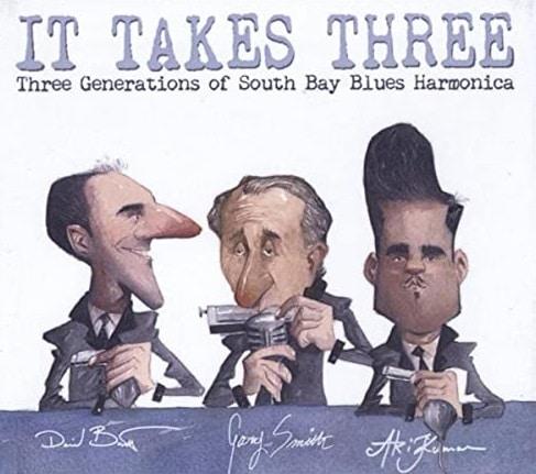 David Barrett, excellent artiste et professeur d'harmonica Chicago Blues