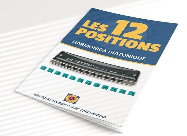 Les 12 Positions de l'Harmonica - le livret